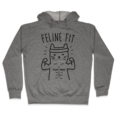 Feline Fit Hooded Sweatshirt