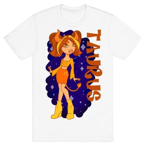 Zodiac Dollz: Taurus T-Shirt