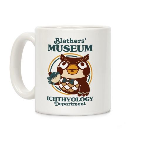 Blathers' Museum Ichthyology Department Coffee Mug