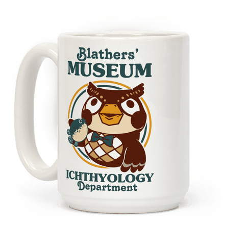 Blathers' Museum Ichthyology Department Coffee Mug