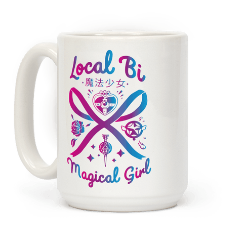 Local Bi Magical Girl Coffee Mug