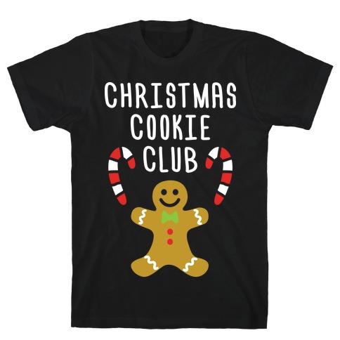 Christmas Cookie Club T-Shirt