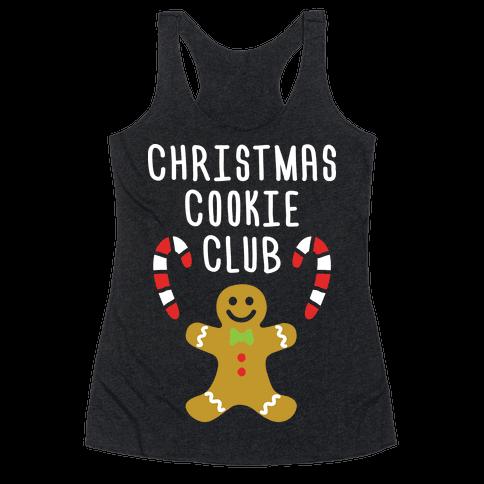 Christmas Cookie Club Racerback Tank Top