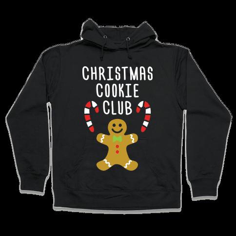 Christmas Cookie Club Hooded Sweatshirt