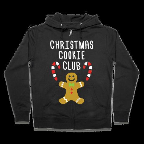 Christmas Cookie Club Zip Hoodie