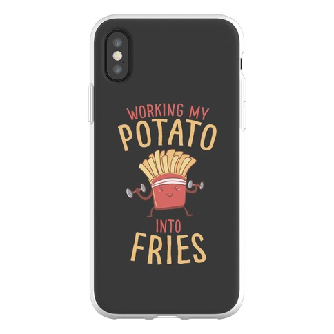 Working My Potato Into Fries Phone Flexi-Case