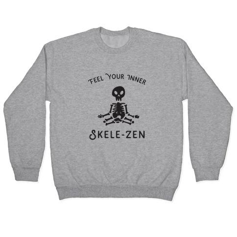 Feel Your Inner Skele-zen Pullover