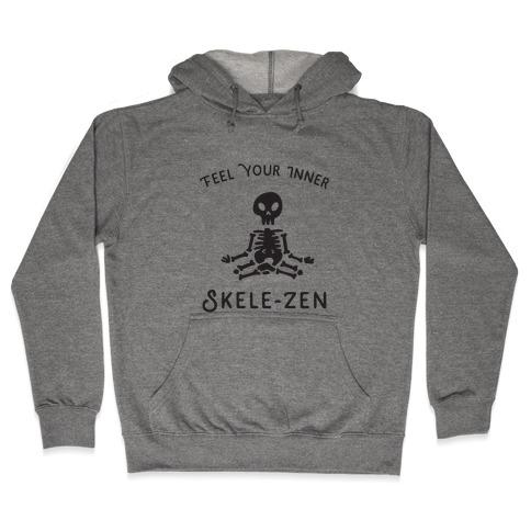 Feel Your Inner Skele-zen Hooded Sweatshirt