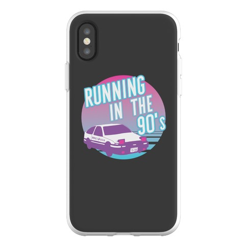 Running in the 90's Phone Flexi-Case
