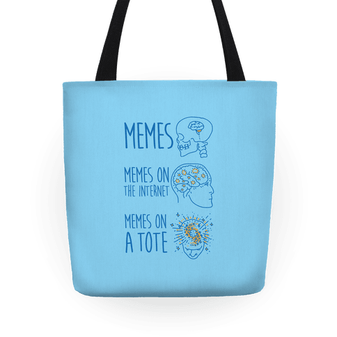 Mind Expansion Memes on a Tote Tote
