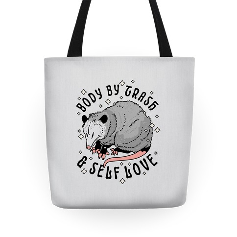 Body By Trash And Self Love Possum Tote