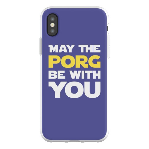 May The Porg Be With You Phone Flexi-Case