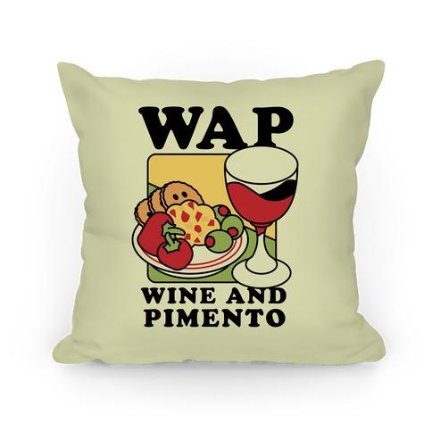 WAP (Wine And Pimento) Pillow