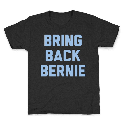 Bring Back Bernie (White) Kids T-Shirt