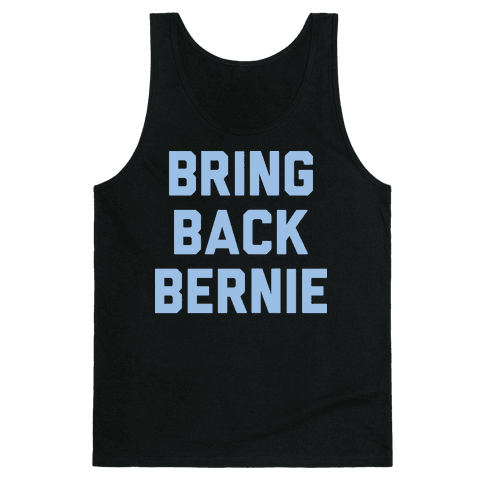 Bring Back Bernie (White) Tank Top