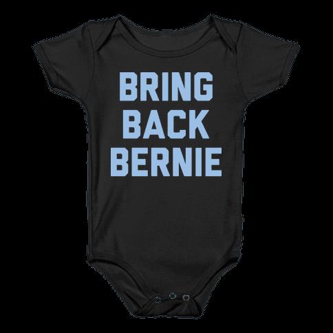 Bring Back Bernie (White) Baby Onesy