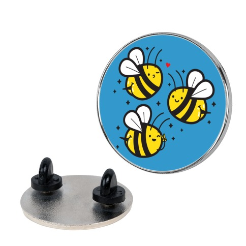 Bee Booties Pin