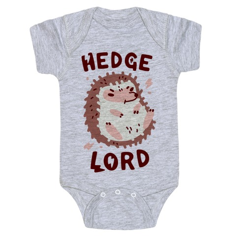 Hedge Lord Baby Onesy
