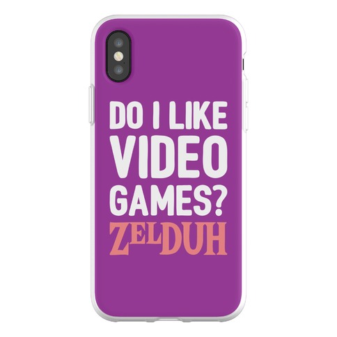 Do I Like Video Games? ZelDUH Phone Flexi-Case