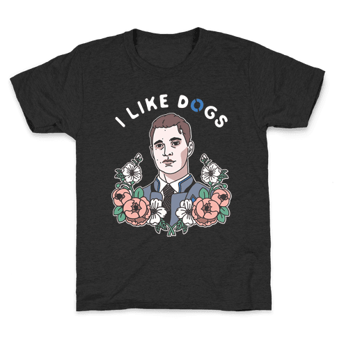 I Like Dogs Connor Kids T-Shirt