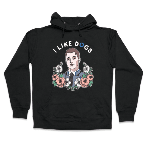 I Like Dogs Connor Hooded Sweatshirt
