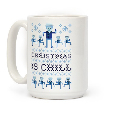 Christmas Is Chill Snow Miser Coffee Mug