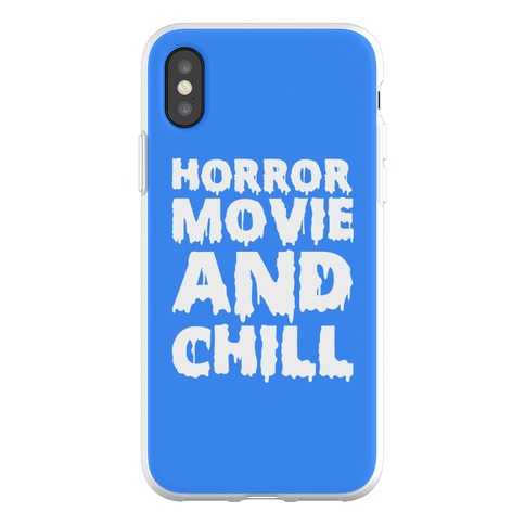 Horror Movie and Chill Phone Flexi-Case