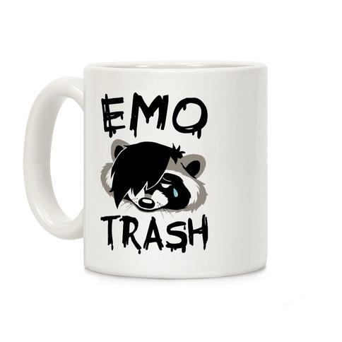 Emo Trash Coffee Mug
