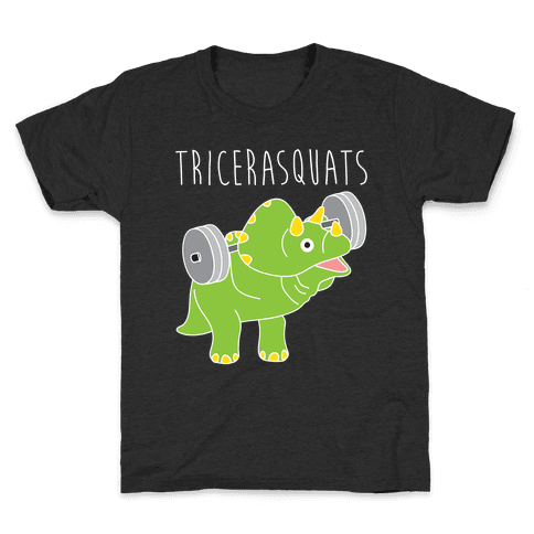 TriceraSQUATS Kids T-Shirt