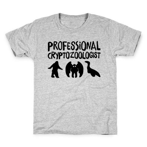 Professional Cryptozoologist Kids T-Shirt