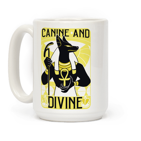 Canine and Divine Coffee Mug