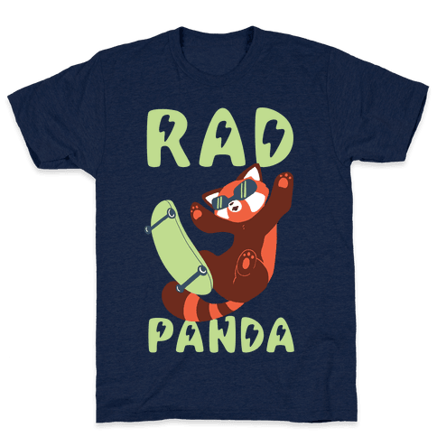 Rad Panda - Red Panda Mens T-Shirt