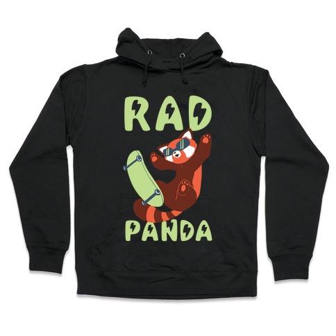 Rad Panda - Red Panda Hooded Sweatshirt