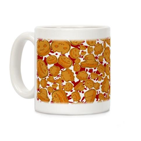 Halloween Nuggies Pattern Coffee Mug