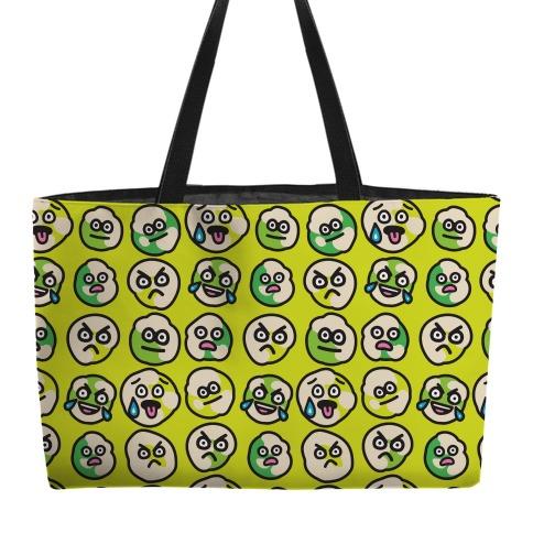 Wasabi Peas Pattern Weekender Tote