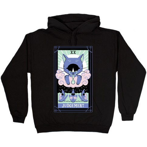 Creepy Cute Tarots: Judgement Hooded Sweatshirt
