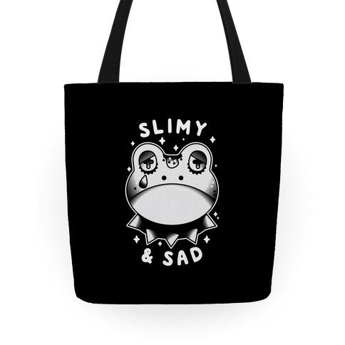 Slimy & Sad Frog Tote