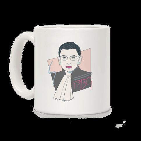 80's Ruth Bader Ginsburg Coffee Mug