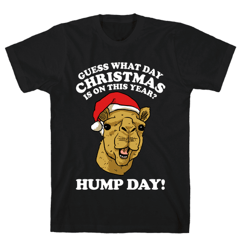 Guess What Day Christmas is on This Year? Mens/Unisex T-Shirt