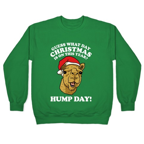 Guess What Day Christmas is on This Year? Pullover