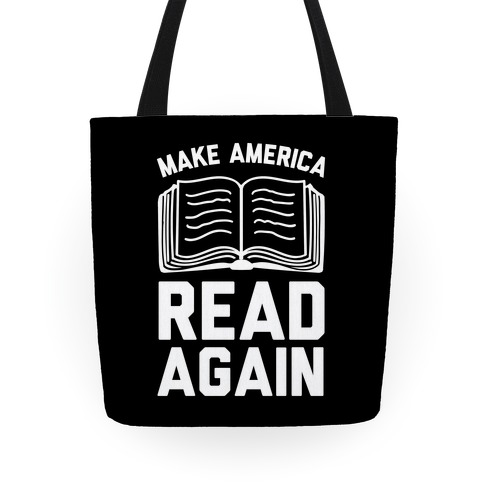 Make America Read Again Tote