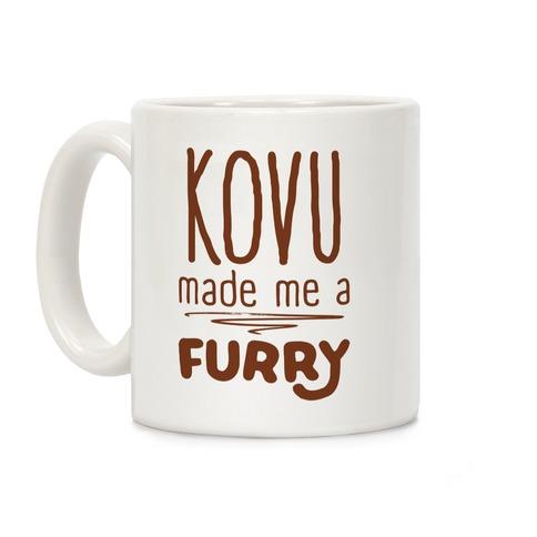 Kovu Made Me A Furry Coffee Mug
