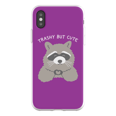 Trashy But Cute Phone Flexi-Case