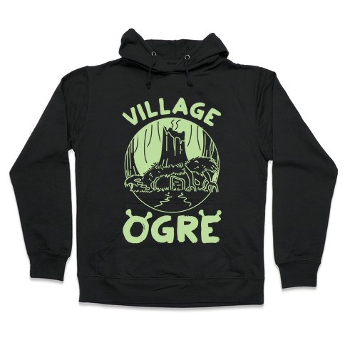 Village Ogre Hooded Sweatshirt