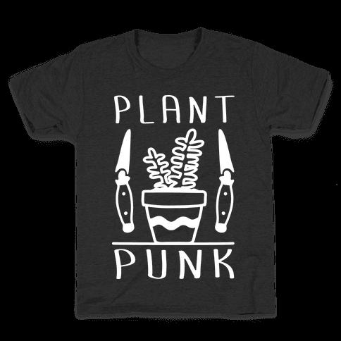 Plant Punk Kids T-Shirt