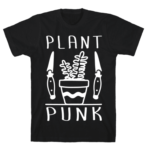 Plant Punk Mens T-Shirt