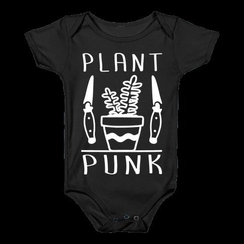 Plant Punk Baby Onesy
