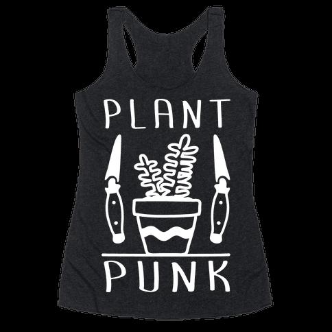 Plant Punk Racerback Tank Top
