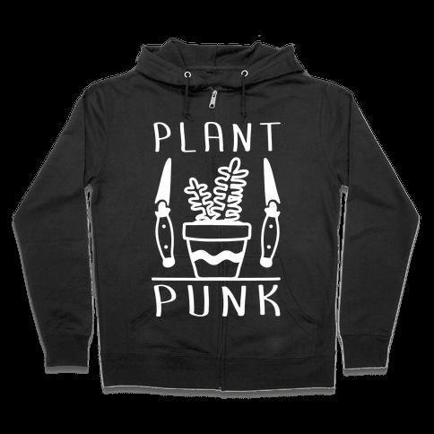 Plant Punk Zip Hoodie
