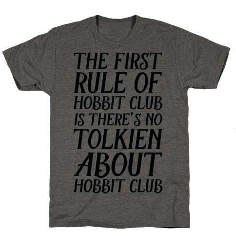 The First Rule Of Hobbit Club Is There's No Tolkien About Hobbit Club